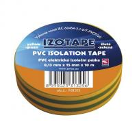 Izolační páska PVC zeleno-žlutá