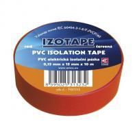Izolační páska PVC červená
