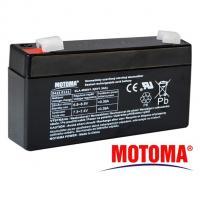 Gelová baterie MOTOMA 6V / 1,3Ah