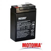 Gelová baterie MOTOMA 6V / 2,8Ah