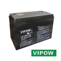 Gelová baterie VIPOW 12V / 100Ah