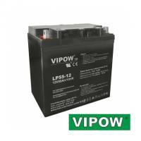 Gelová baterie VIPOW 12V / 55Ah