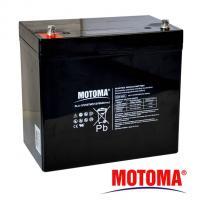 Gelová baterie MOTOMA 12V / 55Ah elektromotory