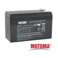 Gelová baterie MOTOMA 12V / 7,5Ah 4,75mm