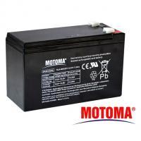 Gelová baterie MOTOMA 12V / 7,5Ah 6,35mm