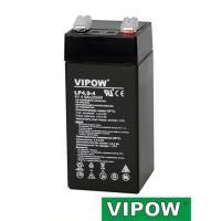 Gelová baterie VIPOW 4V / 4,9Ah