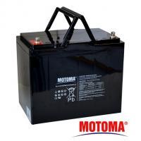 Gelová baterie MOTOMA 12V / 75Ah elektromotory