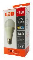 TRIXLINE žárovka LED 15W E27/230V teplá bílá