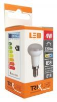 TRIXLINE žárovka bodová LED 4W E14/230V teplá bílá