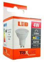 TRIXLINE žárovka LED 4W GU10/230V teplá bílá