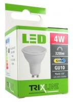 TRIXLINE žárovka LED 4W GU10/230V denní bílá
