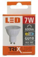 TRIXLINE žárovka LED 7W GU10/230V teplá bílá
