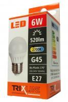 TRIXLINE žárovka LED 6W E27/230V teplá bílá