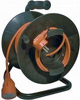 PVC prodlužovací kabel - spojka 50m naviják
