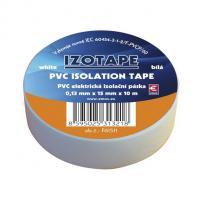 Izolační páska PVC bílá