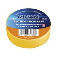 Izolační páska PVC žlutá