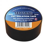 Izolační páska PVC černá 25/10m