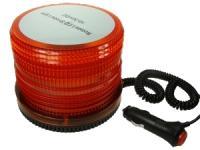 Oranžové výstražné světlo - maják 15W 10-30V 72 LED
