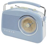 KÖNIG HAV-TR710BU RETRO rádio - modré