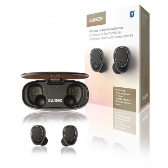 SWEEX SWTWS01B bluetooth bezdrátová sluchátka