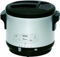 BRAVO BASIC F2L fritovací hrnec černo-stříbrný