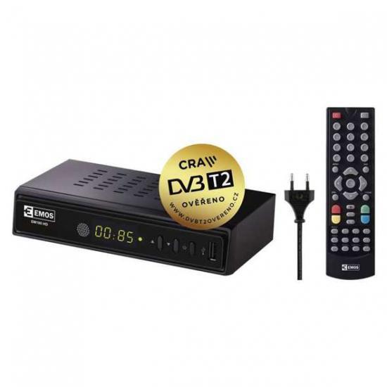 EMOS EM180 DVB-T2 H.265/HEVC