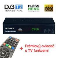 DI-WAY PRO-2020 DVB-T/T2 HEVC H.265