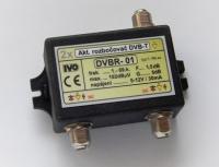 Rozbočovač DVB-T 2x aktivní 5dB