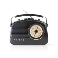 NEDIS RDFM5000BK FM/AM radiopřijímač