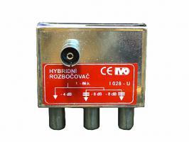 rozbočovač hybridní 3x  I028 - úhlový
