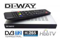 DI-WAY COMBO DVB-T2/C H.265 DVB-S2 s HbbTV