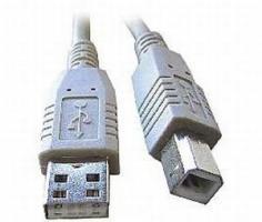 USB kabel 2.0 A vidlice - B vidlice 3m