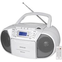 SENCOR SPT 3907 W radiopřijímač s CD/USB/BT/KAZETA
