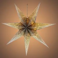 RETLUX RXL 341 hvězda bílostříbrná 10LED WW