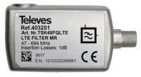 TELEVES 47-694 MHz 5G filtr pro LTE700
